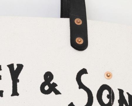 Apron & Bag Logo Tote - Black
