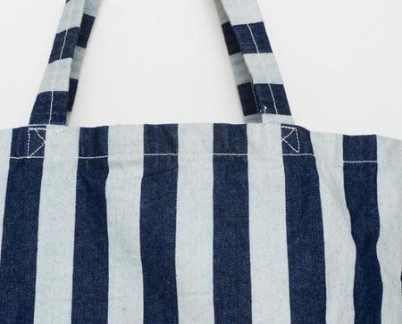 Apron & Bag Market Tote - Wide Stripe