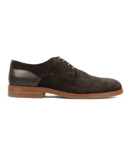 Hudson London Antrim Suede Shoe - Brown