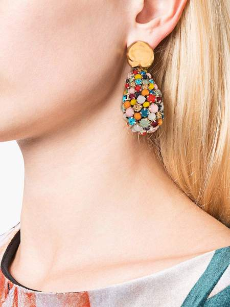 Lizzie Fortunato Roman Holiday Earrings - Multi