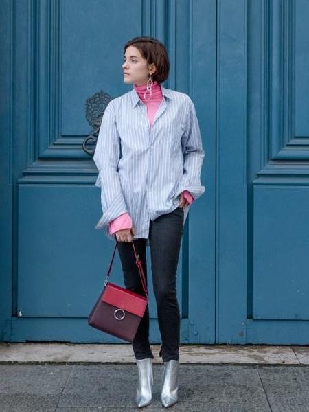 CDSD Two Strap Bag - Burgundy/Wine
