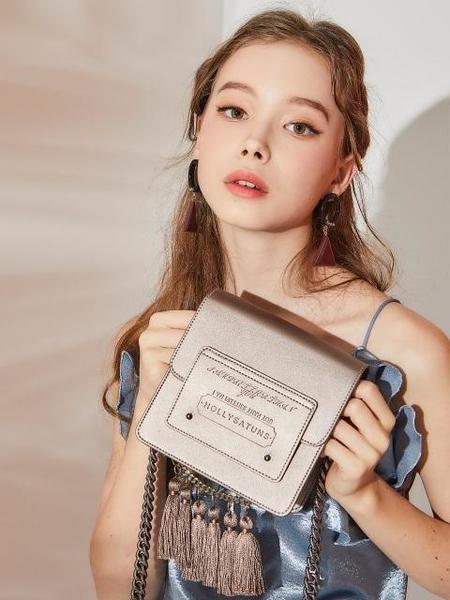 HOLLYSATUNS Macaroon W Bag - Pearl Grey