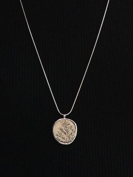CONTEMPO.H Dendrite Pebble Opera Necklace