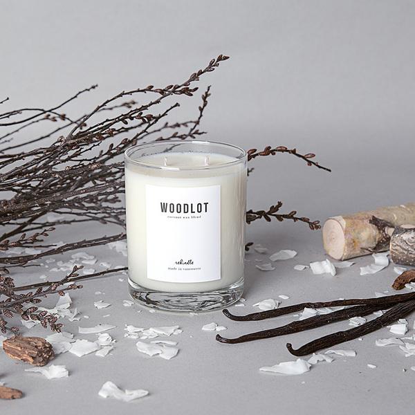 Woodlot Candle in Rekindle