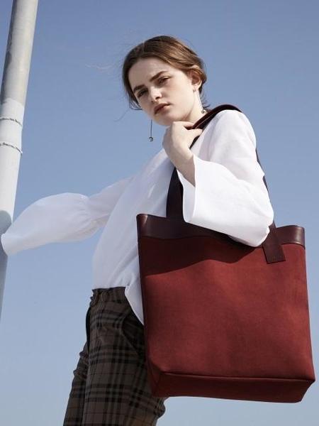 Atclip Line Bag - Burgundy