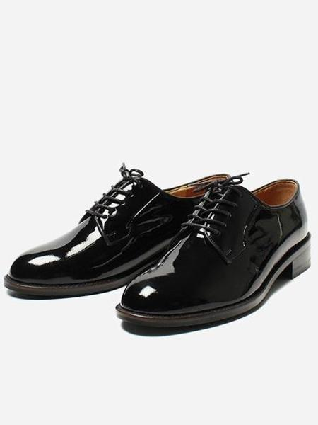 ROMANTIC MOVE Classic Derby - Black Patent