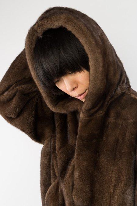 Sandy Liang  Hoodie - Mink