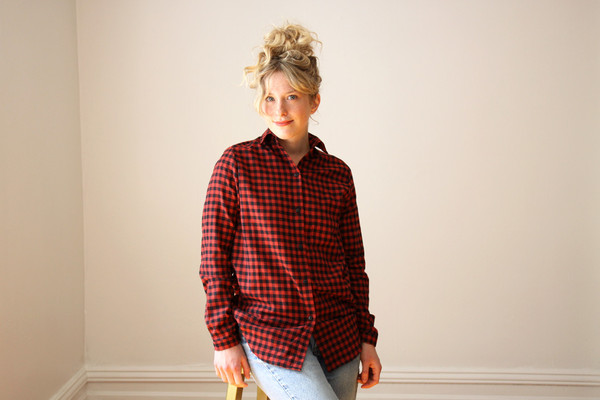 Hutchison Red and Black Checked Shirt