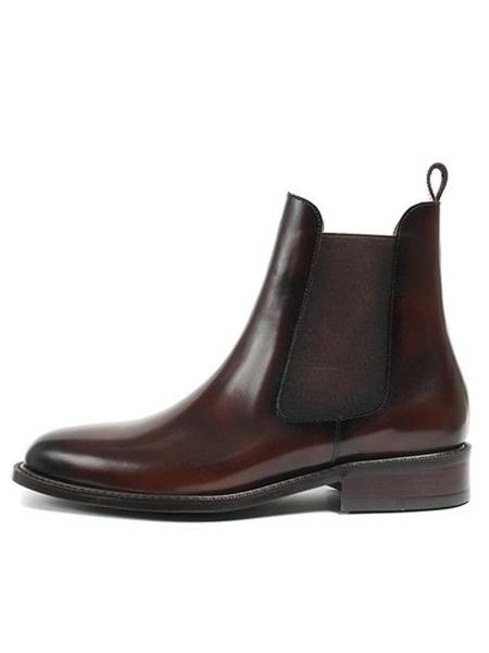 Unisex ROMANTIC MOVE New Tampere Chelsea Boot - French Burgundy