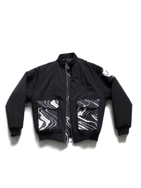 UNISEX THE GREATEST Marbling MA-1 - Black