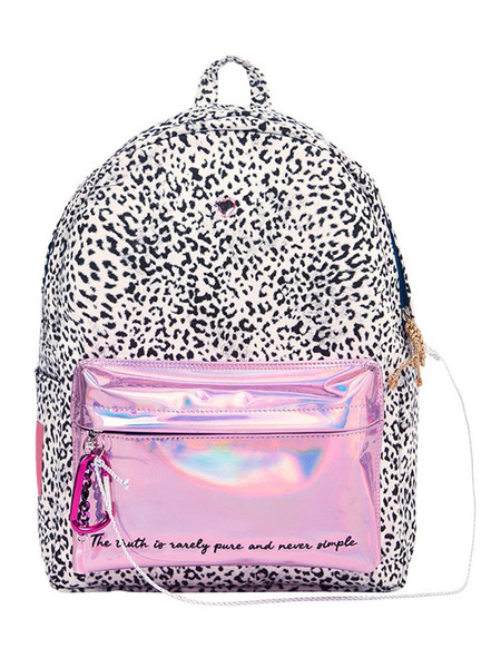 ENTRE REVES Never Simple Leopard Backpack