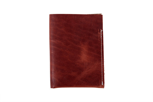 Union Wood Co. Passport Holder - Brown