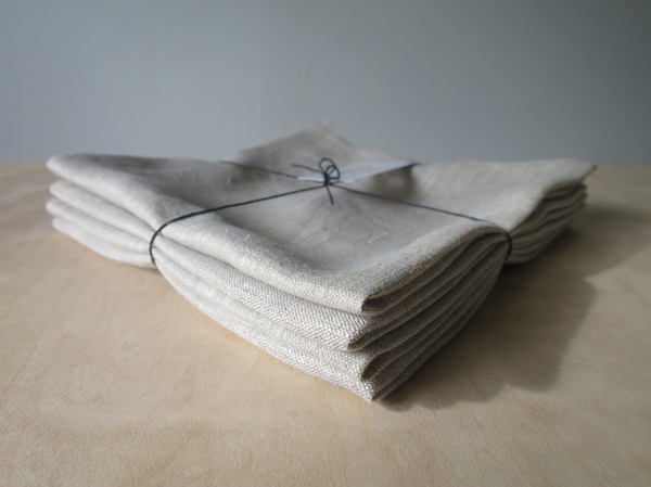 Lissu Linen Napkin Set - Birch