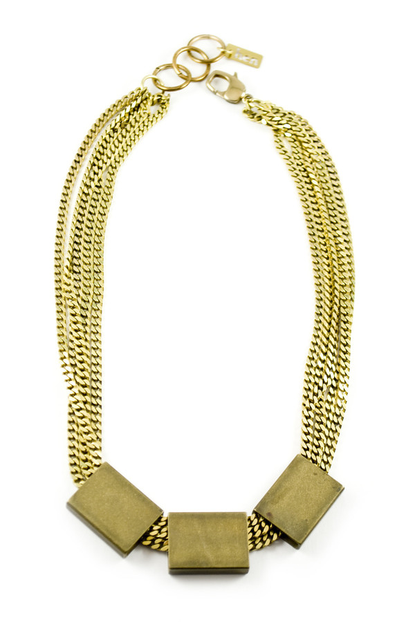 Hen Jewelry Prism Collar