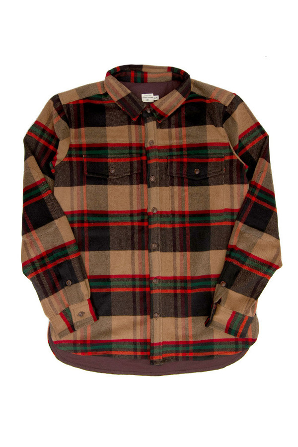 Men's Bridge & Burn Flint Plaid Overshirt