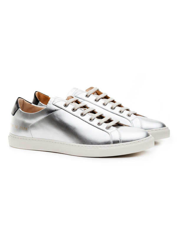 Woman by Common Projects Womens Achilles Retro Low Silver