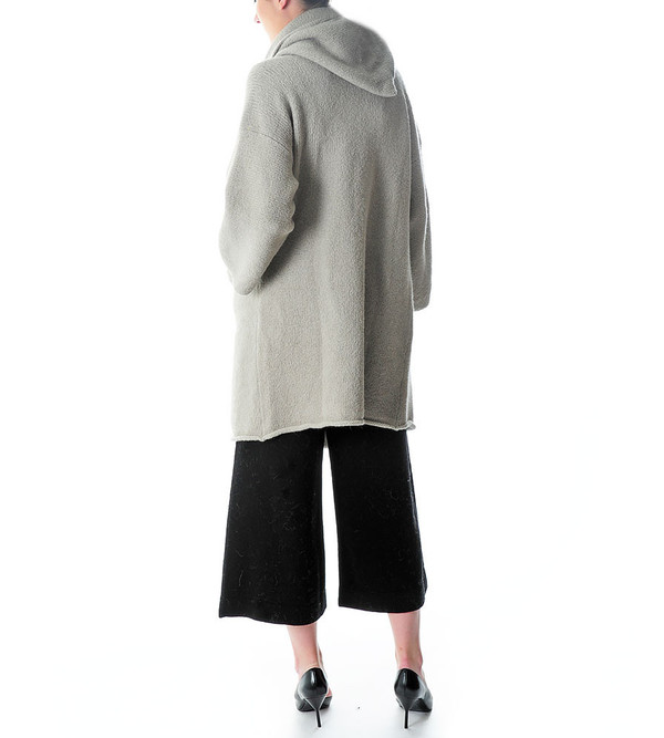 Lauren Manoogian Capote Coat | Cement