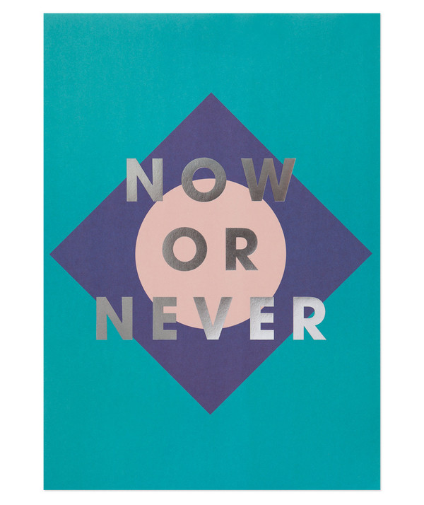 The Adventures Of... Now or Never Print