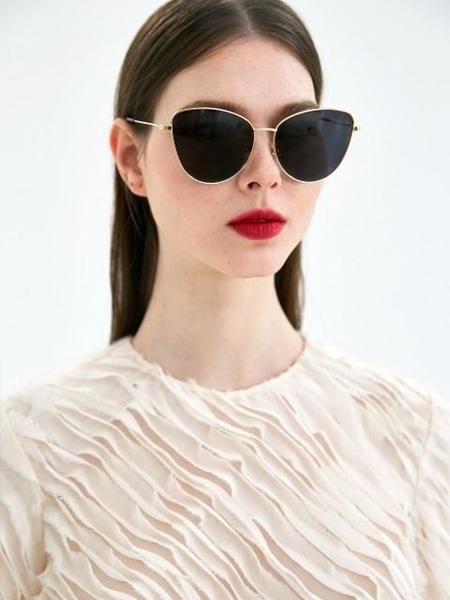 COLLABOTORY Friday Sunglasses - Gold/Black