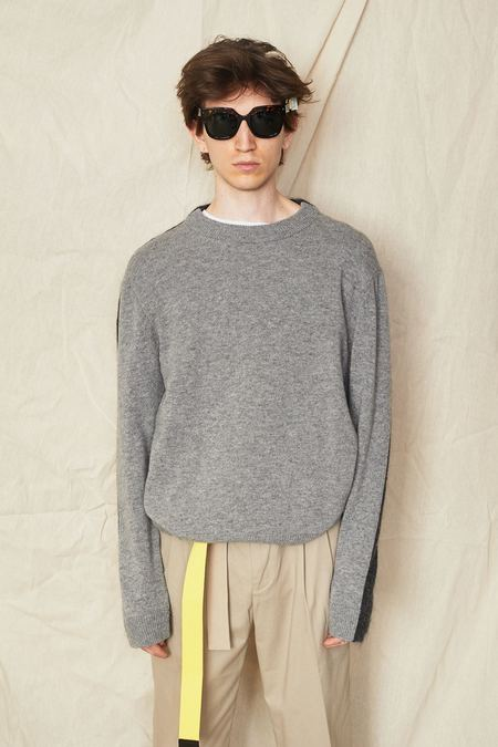 Tom Scott Half and Half Sweater