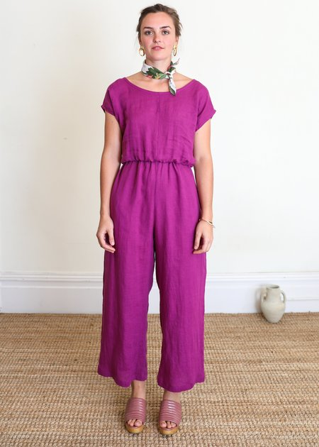 Gravel & Gold Rush Jumpsuit - Sunset
