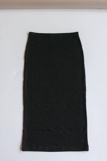 Beautiful People Brushed Jersey Pencil Skirt - Black