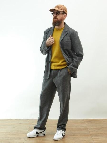 BRUMAN Wool Sports Jacket - Grey