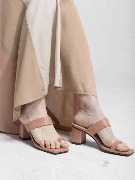 MARCIE X ATELIER PARK Tropical Sandal - Peach