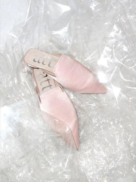 ATT. Love Well Mule - Pale Pink