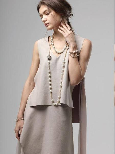 Atelier901 Twinkle Long Necklace - Gold