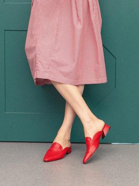 GISELLINA Bannes Mule - Red