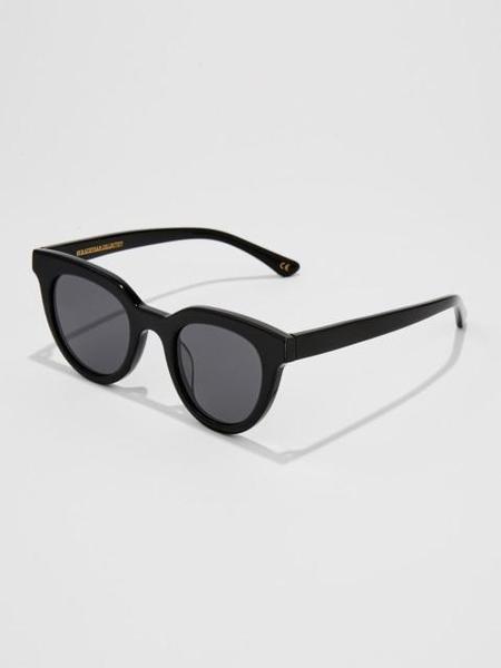 Unisex BVH Acetate Sunglasses - Black