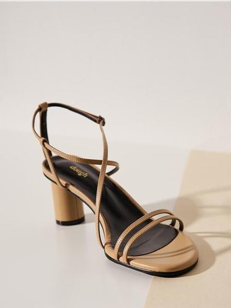 DOUGH Nude Strap Sandal - BEIGE