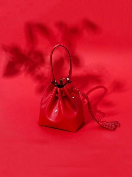 Joseph & Stacey S Bucket Oz Bag - Barbados Red