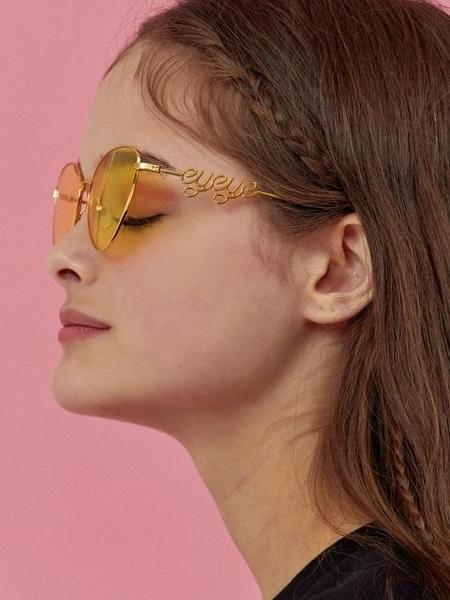EYEYE X VEDI VERO Cat Eye Sunglass - Yellow