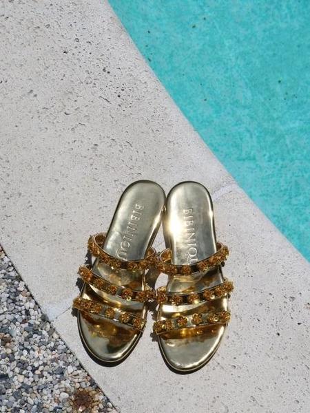 BIBINIQUE Rozy Sandals - Gold