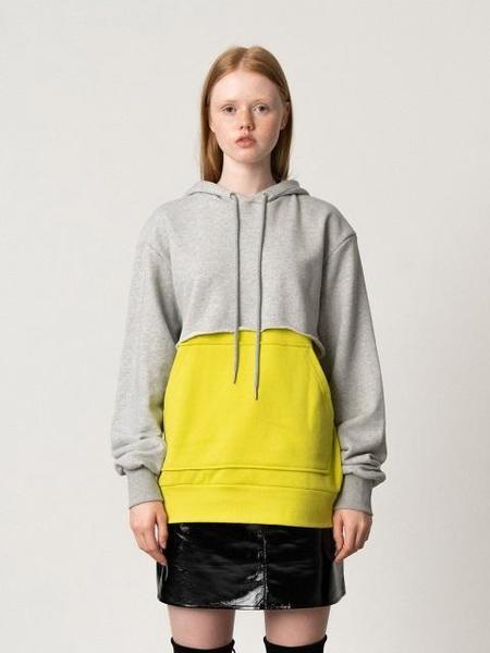 Unisex ROCKET X LUNCH Hood Layered Sweatshirt