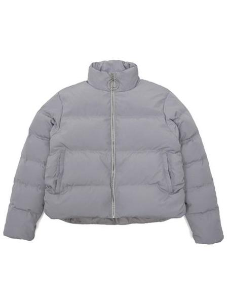 Unisex FLASK Converation Duck Down Padding Jacket - Grey