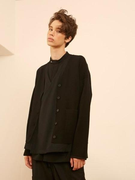 YOUTH Wrap Pocket Vest - Black