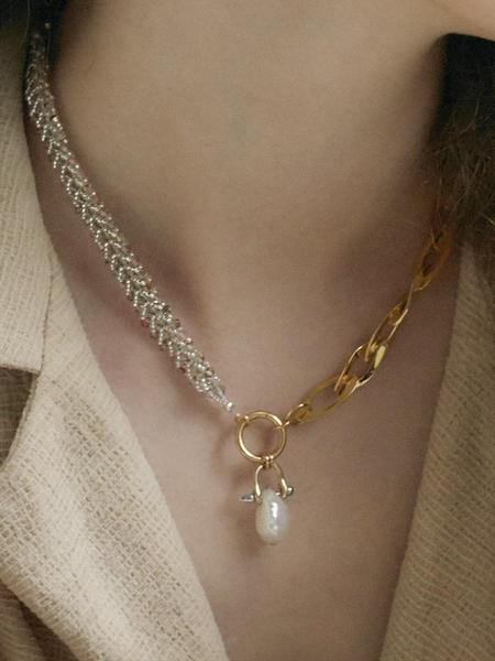 S_S.IL Pearl Beads Choker