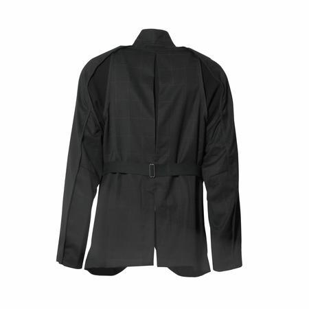 Abasi Rosborough Arc Jacket - Black Window Pane