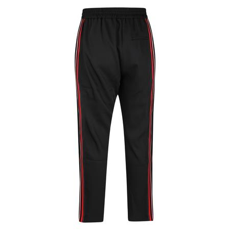 CMMN SWDN Buck Track Pants - Black/Red