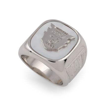 Human Made College Ring - Silver