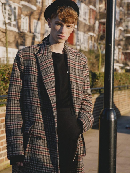 Unisex ATAR Overfit Double - Check Coat