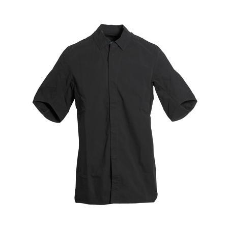 11 by Boris Bidjan Saberi Wheelie Embroidered Shirt - BLACK