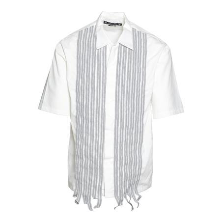 Sasquatchfabrix. Safety Dress Half Sleeve Shirt - WHITE