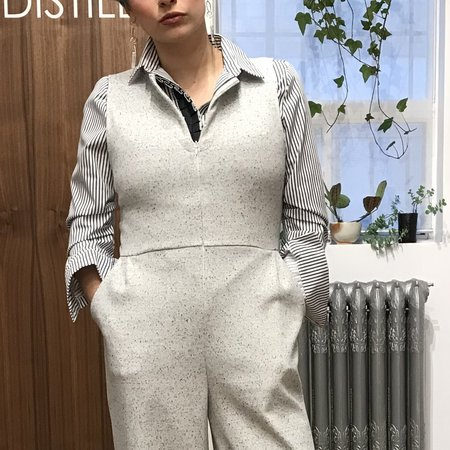 Dagg & Stacey Fifer Jumpsuit - Ivory Speckle