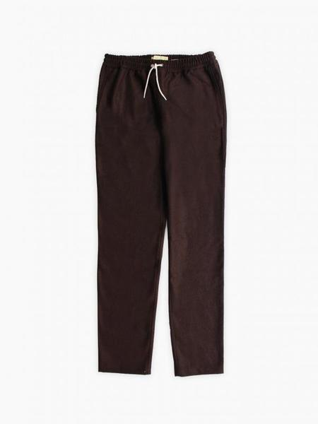 De Bonne Facture Relaxed Trousers - Chestnut