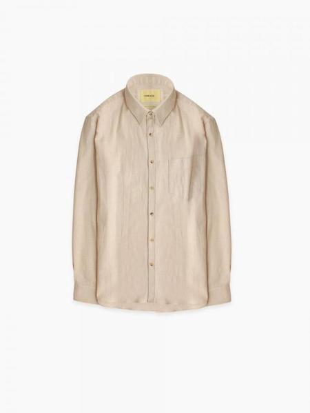 De Bonne Facture Essential Shirt - Ecru