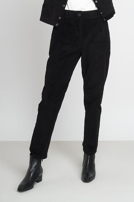 Jungle Folk Macondo Organic Cotton Corduroy Trousers - Black